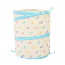 Oxford Cloth Contracted Style Household Essentials Laundry Basket