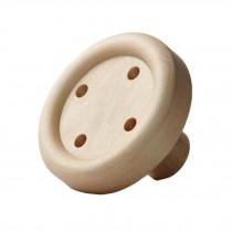 Creative Wooden Hook Utility Wall Hooks Bathroom Hooks, Button