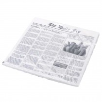 Newspaper Hamburger Paper Greaseproof Paper Tray Paper Wrapping Paper, 10 inch