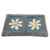 """Lovely Non-Slip Doormat Absorbent Bedroom Flower Decor Rug,15.5*23.5"""""""