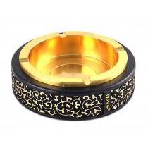 High Quality Creative Gifts Metal Ashtrays European Style Ashtray Fashion GOLDEN