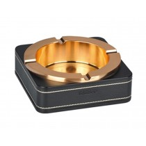 Stainless Steel Creative European Style Ashtrays High Quality Ashtray GOLDEN