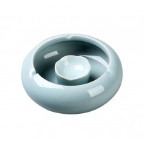 Simple Continental Ashtrays Home Office Decoration Ashtrays, Celadon BLUE