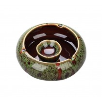 Functional Simple Ashtrays Home Office Decoration Ashtrays (Emerald GREEN)