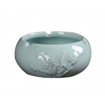 Wintersweet Pattern Living Room Office Ceramics Cigarettes Ashtray