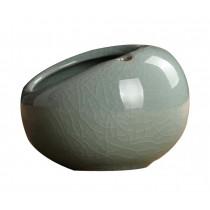 Retro Creative Ceramic Cigarette Ashtray for Home Office Decoration, PINK GREEN