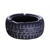 Living Room Desktop Decoration Ashtray Creative Tire Pattern Ashtrays (BLACK)