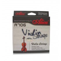 Pro Steel Violin Strings Set 4 Strings G, D, A & E, Medium