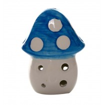 Musical Instrument Ocarina for Child/Mushroom Ocarina, 6 Holes/Blue