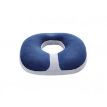 Ventilate Comfortable Memory Foam Cushion Of The Office/Car(Navy)