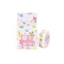 Set of 3 Rolls Spring Lovely Decorative Tape Scrapbooking Paper Sticker