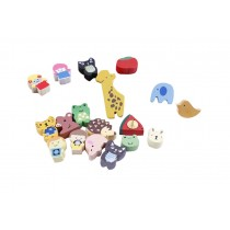 Creative Office Item/Lovely Animals Series Pushpins/19 Piece/Random Style