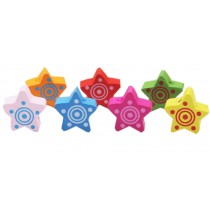 Star Design Pushpins Drawing Pin 50 Pcs for shcool or office