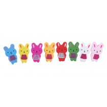Rabbit Design Pushpins Drawing Pin 30 Pcs for shcool or office