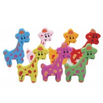 Giraffe Pushpins Drawing Pin 30 Pcs for shcool or office