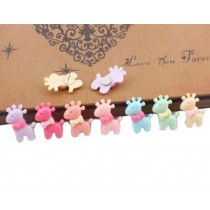 Lovely Deer Design Pushpins Drawing Pin 20 Pcs for shcool or office