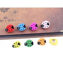Ladybird Pushpins Drawing Pin 25 Pcs for shcool or office