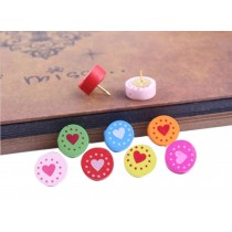 Round Design Pushpins Drawing Pin 50 Pcs for shcool or office