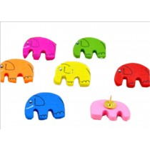 Cute Elephant Pushpins Drawing Pin 20 Pcs for shcool or office