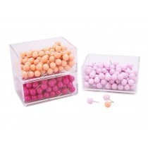 360 Pieces Round Pushpins/Drawing Pins For School or Office