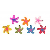 14 Pieces Colorful Starfish Pushpins/Drawing Pins For School or Office