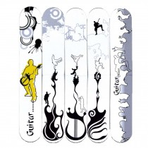 5 Pcs Creative Musical Instrument Cool Magnet Bookmark Paper Clips