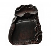 Novelty Lotus Ink Stone for Calligraphy Chinese Painting