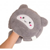 Cute Cartoon USB Heated Mouse Pad With Wristguard Hand Warmer Winter Mousepads #2