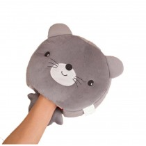 Cute Cartoon USB Heated Mouse Pad With Wristguard Hand Warmer Winter Mousepads, Mouse