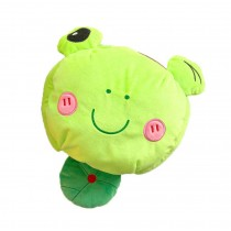 Cute Cartoon USB Heated Mouse Pad With Wristguard Hand Warmer For Winter, Frog