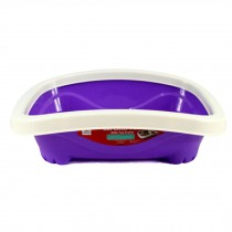 "Pet Supplies & Indoor Training Pet Potty Cat litter Basin(16""*13""*4.3""),Violet"