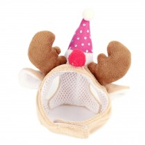 Christmas Party Hat Pet Costume Accessory, Small