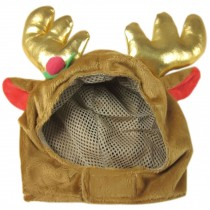 Merry Christmas Party Hat Pet Costume Accessory, L