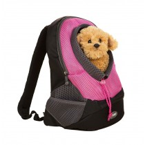Simple Pet Carrier Backpack Travel Pet Backpack PINK (Suitable for 0-2.5kg)