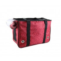 [Red Letters] Fashion Pet Carriers Tote Bag for Dogs and Cats