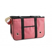 [RED Lines] Fashion Pet Carriers Tote Bag for Dogs and Cats