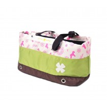 Portable Soft Pet Carrier Tote Bag for Dogs and Cats (L55??W17??H26cm, Green)
