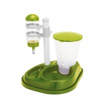 Automatic Dog Drinking Device Pet Water Bottle Feeder GREEN