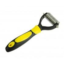 Pet Fur Knot Rake Soft Comb Dog Brush Rake Pet Comb