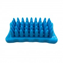 Pet Cleaning Supplies--Rubber Grooming Brush,Cat/Dog Bathing Brush,Random Colors