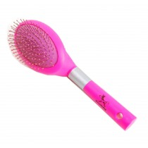 Soft Plastic Handle Massage Comb Pet Dog Brush Cat Brush Rose