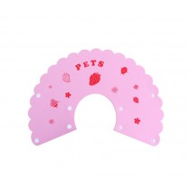 Pet Soft Cone Elizabeth Protective Collar Anti-scratch Protection Cover PINK