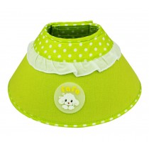Candy Color Dog Wound Healing Elizabeth Protective Collar GREEN, M