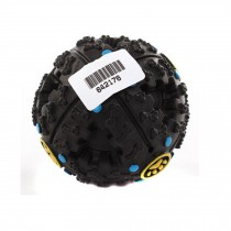High-quality Pet Toys --Durable Clean Teeth Chew Toy Sound Toys,BLACK,3-inch