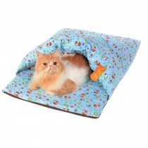 Skin Soft and Warm Pet House Dog Cat Pet Bed Puppy sofa, Vocal 60*40*18CM