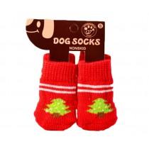 Pet Socks-Pet-Slip Bottom Pad Multicolor Variety Scratch Furniture--Christmas