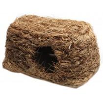Natural Outdoor Rabbit Hutch Straw Mattress Hand Made Straw Nest