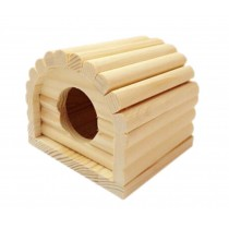 Small Pet Hamster Wooden House/Bedroom Accessories, Arched
