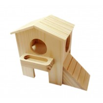 Luxurious Small Pet Hamster Wooden House/Bedroom Accessories