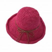 Vintage Floppy Summer Sun Beach Straw Hats Accessories Wide Brim Foldable